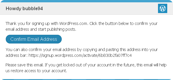 confirmwordpress