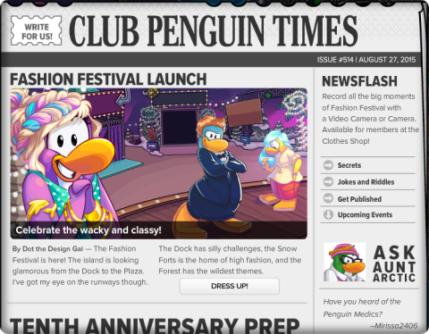 Club Penguin Times #514 (2)