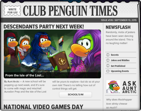 Club Penguin Times #516 (2)