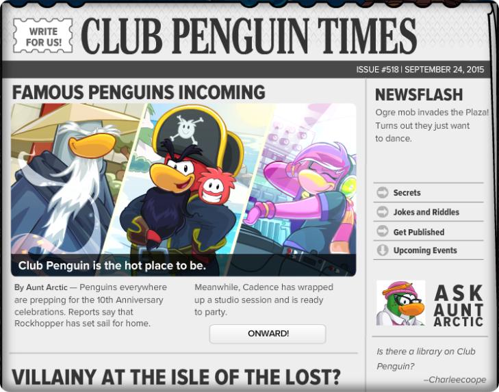 Club Penguin Times 518 (1)