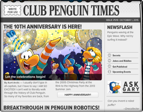 Club Penguin Times #519 (2)