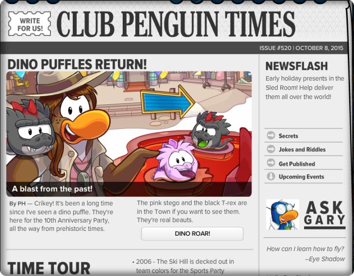 Club Penguin Times #520 (1)