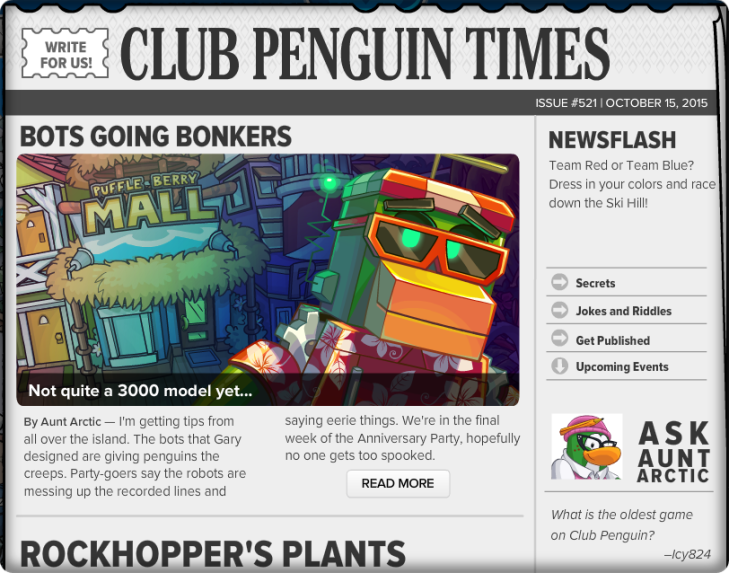 Club Penguin Times #521 (2)