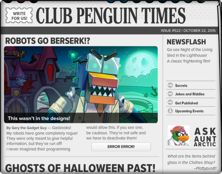 Club Penguin Times #523 (2)