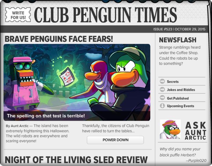 Club Penguin Times #523 (2)
