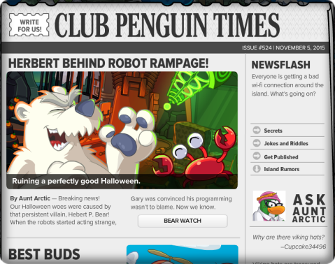 Club Penguin Times #524 (2)