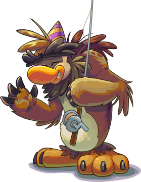 Puffle_Party_2015_Sasquatch_with_Fishing_Pole