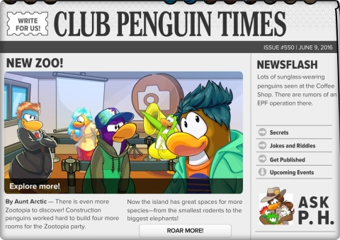 Club Penguin Times 1