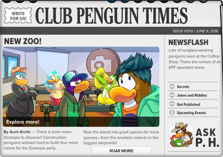 Club Penguin Times 1
